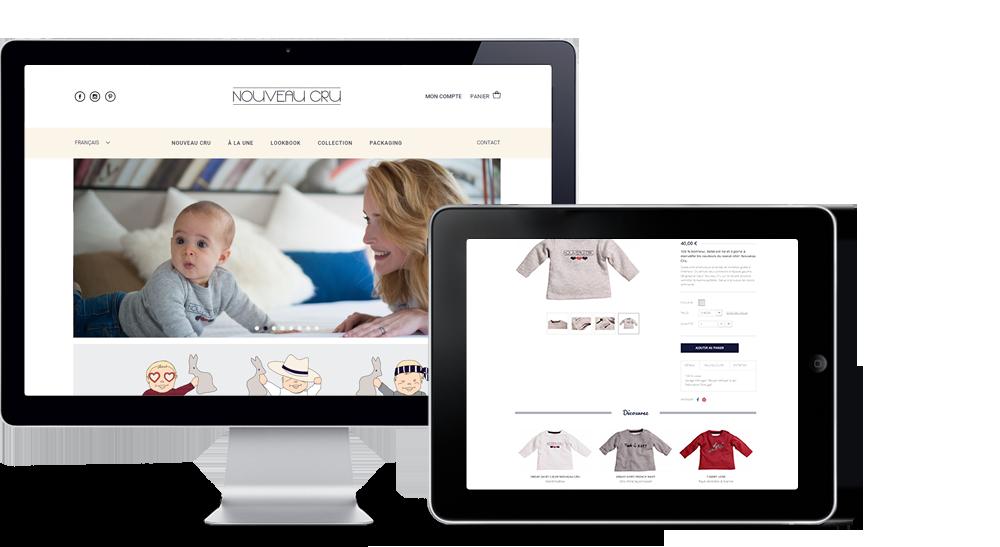 Nouveau Cru site internet